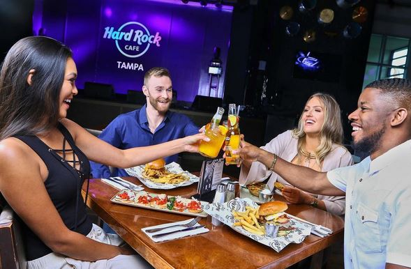 Hard Rock Casino American fare dining