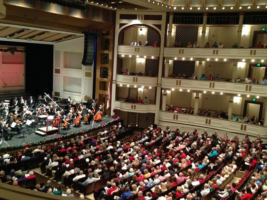 The Florida Orchestra at the Mahaffey Theater in St. Petersburg, Florida.