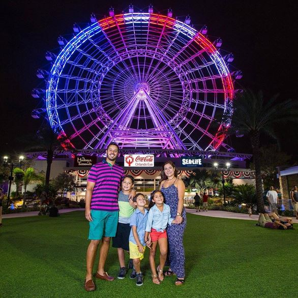 The Orlando Eye Fourth of July idrive International Drive