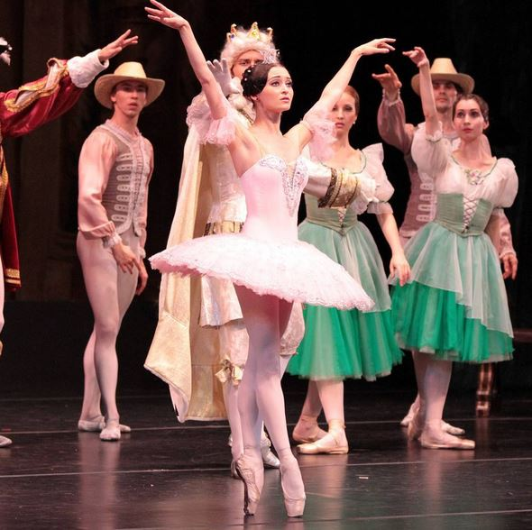 Ballerina The Moscow Festival Ballet once brought to life the classic tale of Sleeping Beauty at Ruth Eckerd Hall!