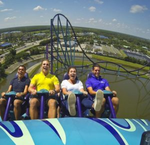 Mako Roller Coaster at Sea World