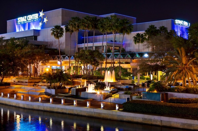 Tampa's Straz Center for Performing Arts